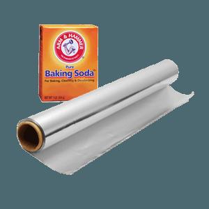 aluminum-foil-baking-soda
