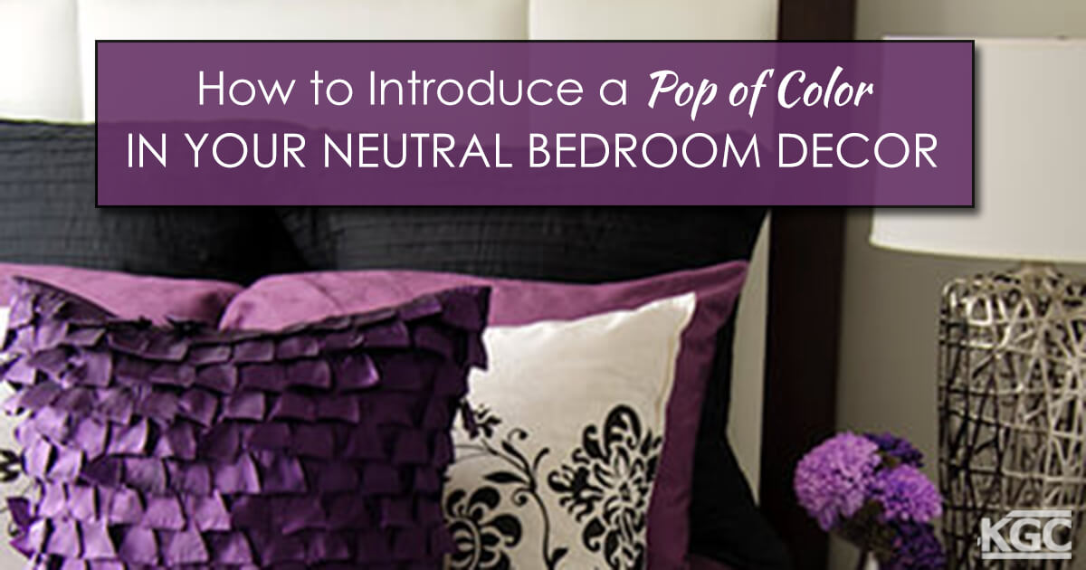 Make a Neutral Space Pop with Color | Decorating with Colors #15