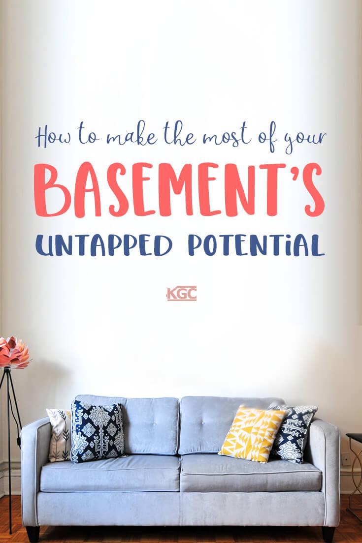 convert basement ideas