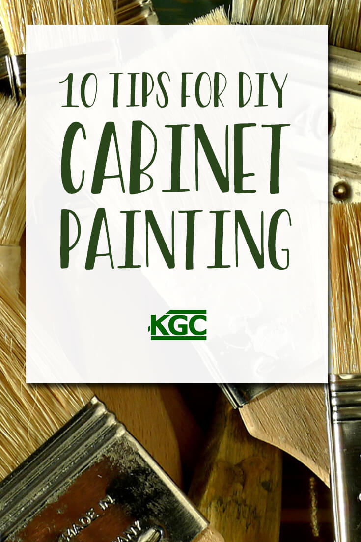 pinterest-10 tips for DIY cabinet painting