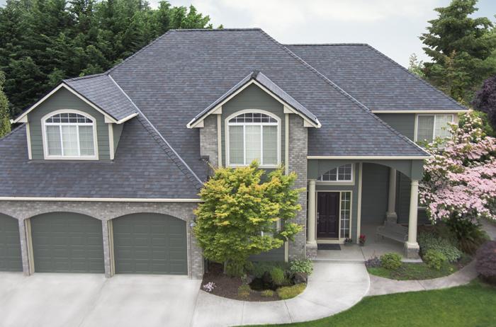 Malarkey Legacy Roof in Black in Oak